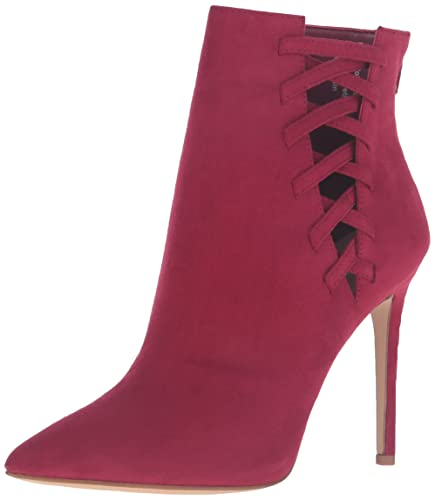 Women's Tuxedo Ankle Bootie Bordo Miscellaneous 7 B US