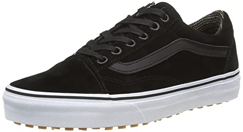 8f18ae1c12 Vans Old Skool MTE Black Leather Men s Classic Skate Shoes Size 6.5