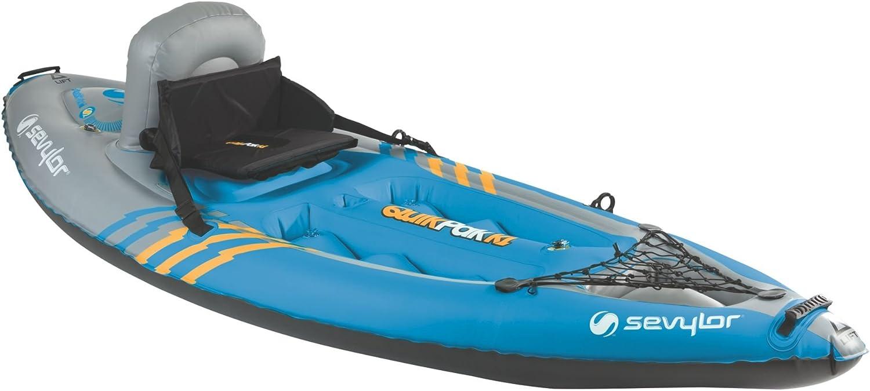 Amazon.com: Kayak Sevylor Quikpak K1para 1 ...