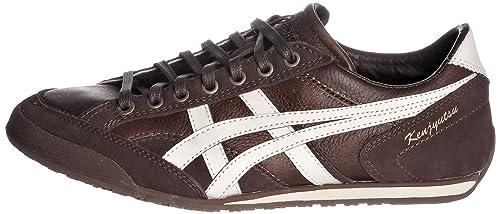 zapatillas asics hombre piel