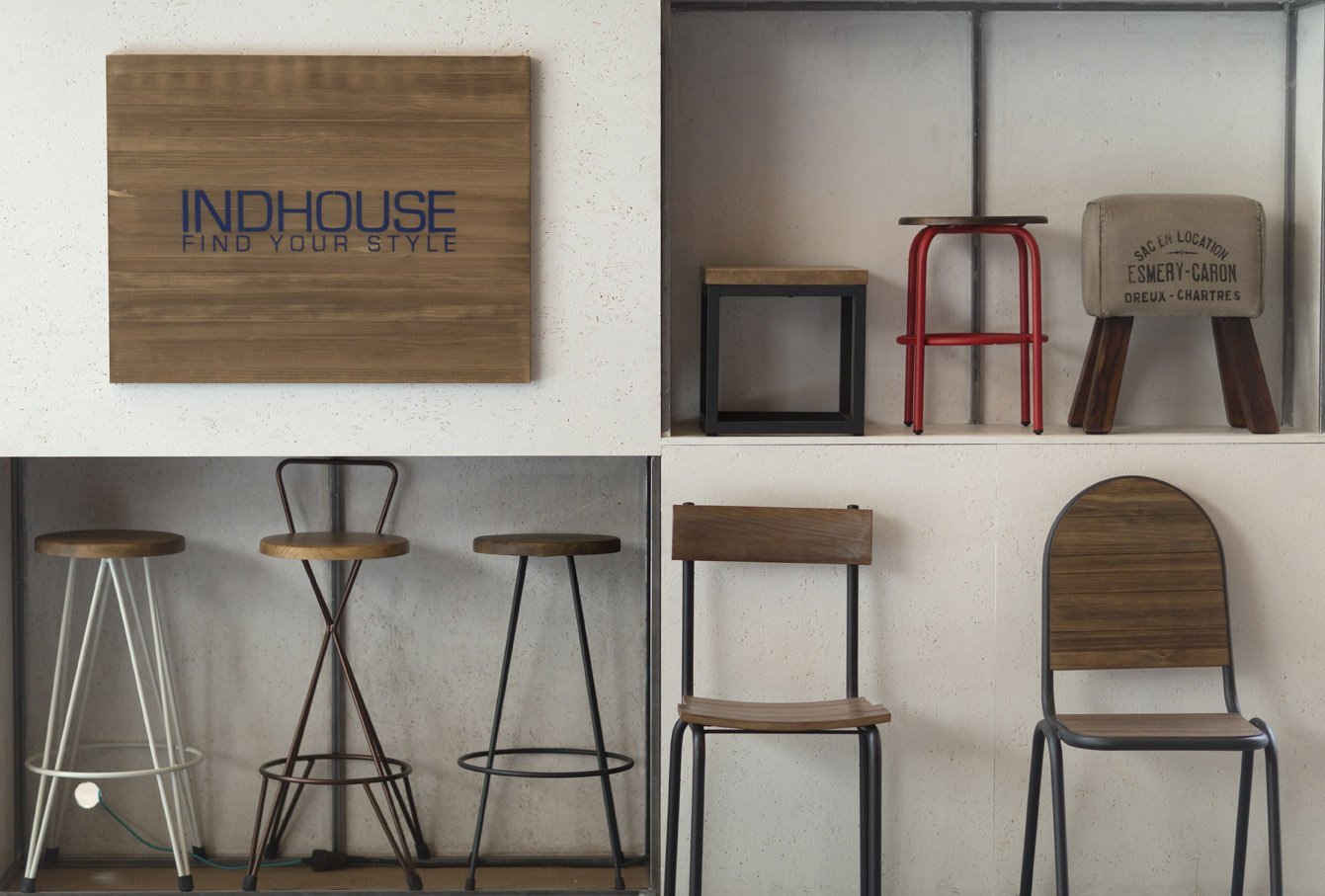 Sgabelli cucina stile industriale sedia di stile industriale in