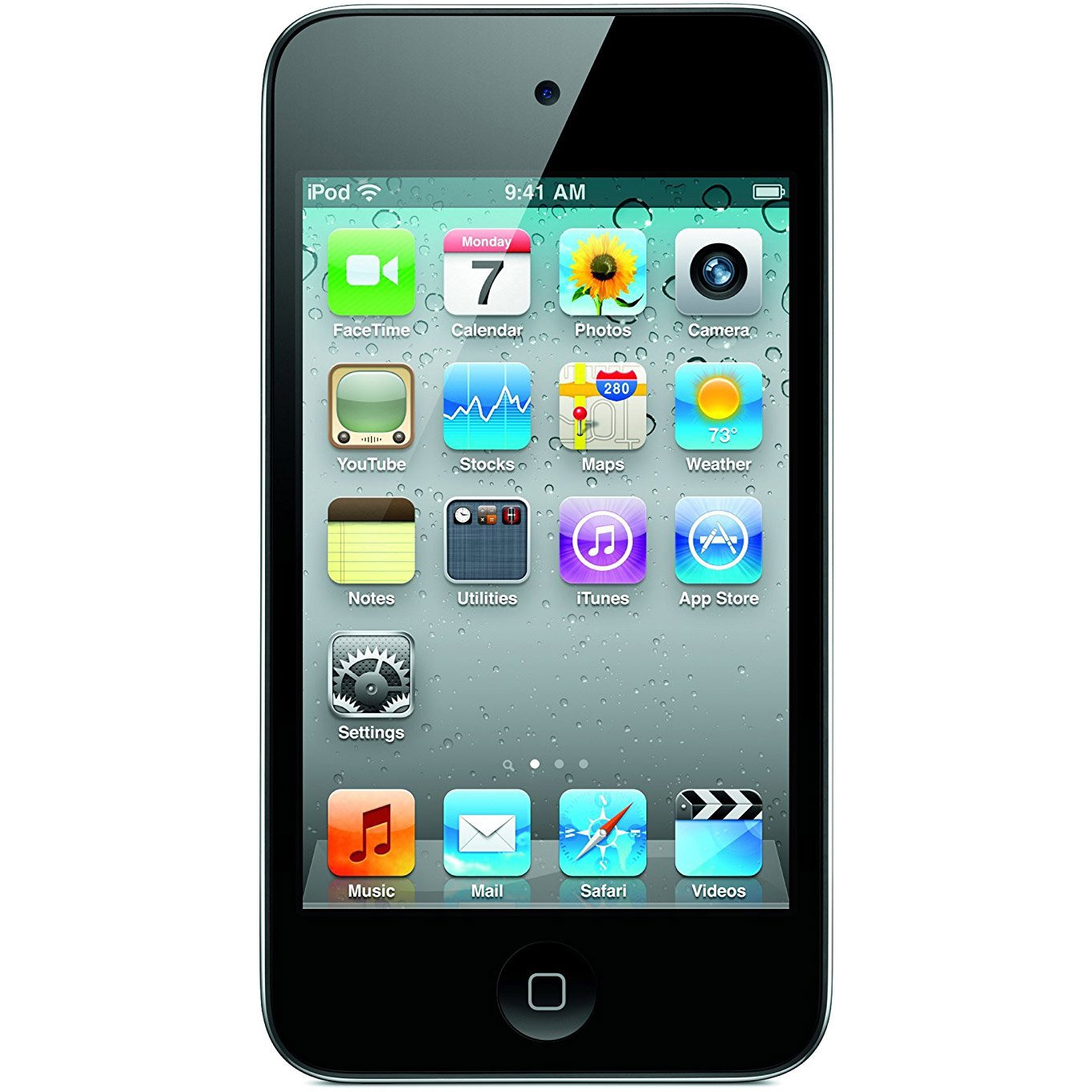 Amazon.com: Apple iPod touch 16GB Black (4th Generation) (Discontinued by  Manufacturer): Home Audio & Theater