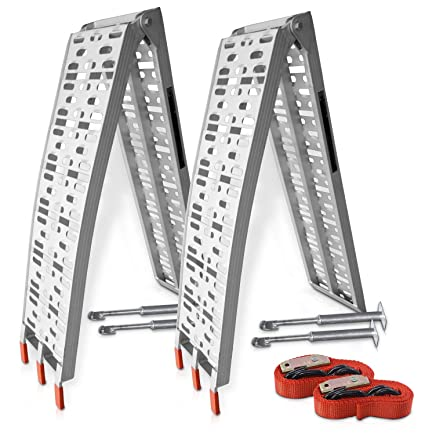 Hecht - Rampa de Aluminio Profesional con Patas y prácticas ...