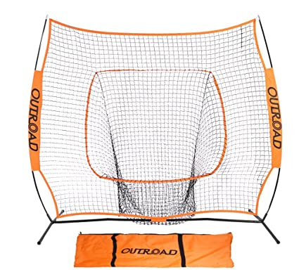 Amazon.com : OUTROAD Softball & Baseball Practice Net 7 x 7 ...