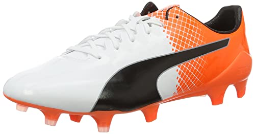 31b67999c1c Puma Men s Evospeed Sl-s Ii Fg Football Boots White Orange  Amazon ...