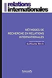 Methodes de recherche en relations internationales
