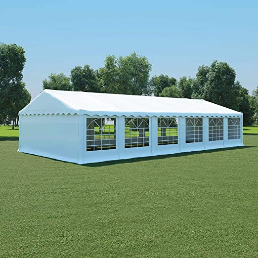 honglianghongshang Jardín Artículos de Exterior Estructuras de Exteriores Carpa de jardín de PVC 6x12 m Blanco: Amazon.es: Hogar