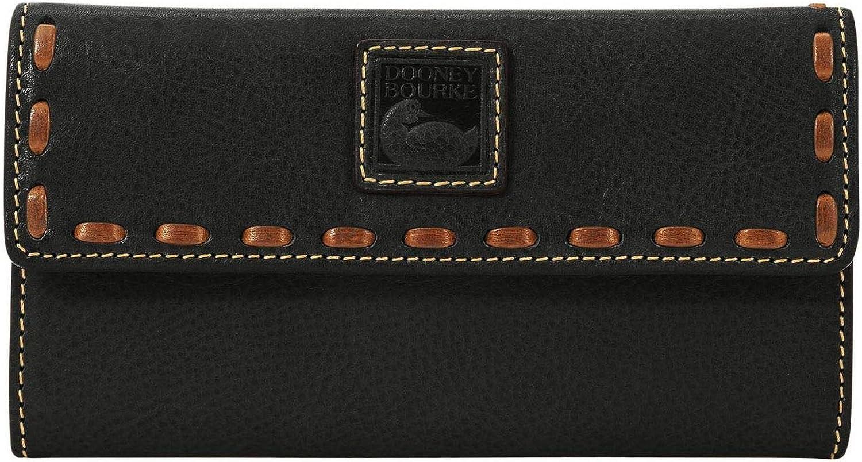 Dooney /& Bourke Florentine Continental Clutch Black