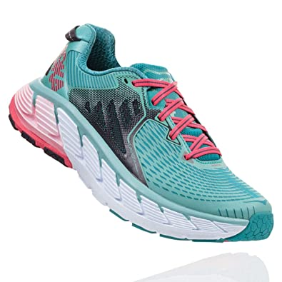 Hoka One - Zapatillas de Running para Mujer Canton/Green Blue Slate: Amazon.es: Zapatos y complementos