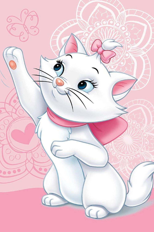 Marie Cat Disney Aristocats Couverture polaire douillette 100 x 150 cm