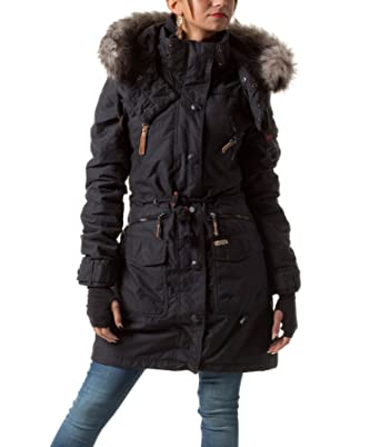 Winterjacke By 2012 Hm 7210 Jacke Khujo Damen Jeans Star Mod