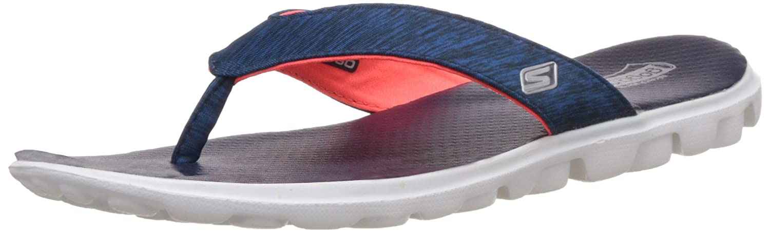6125a1c867e4 Skechers Women s On-The-Go - Flow Grey and Hot Pink Slippers (13631-Gyhp)  Buy  Online at Low Prices in India - Amazon.in