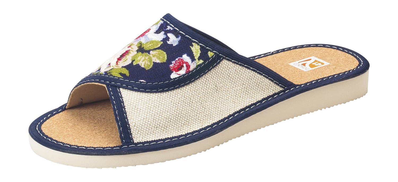 Confort chaussons cuir de Lw07e lin liege femmes tailles cuir orteil fermés ou ouverts pantoufles tailles 36-41 Lw07e b98ae24 - digitalweb.space