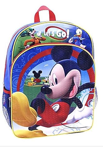 Disney Junior Mickey Mouse 14 Mochila Vamos: Amazon.es: Ropa y accesorios