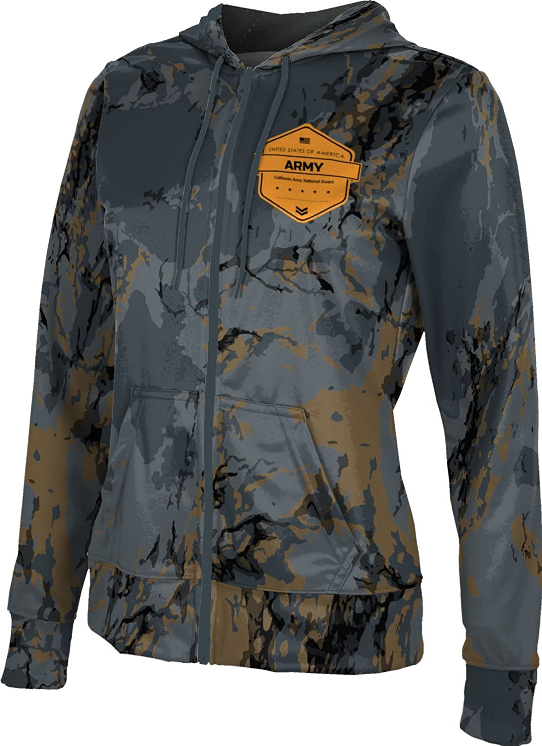 ProSphere Women's California Army National Guard Military Marble Fullzip Hoodie