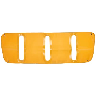 Belmor WF-2175Y-1 Yellow Winterfront Truck Grille Cover for 2003-2020 Freightliner M2 100, 106, 112 (Non-Stationary Grill): Automotive