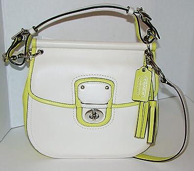 59286e6b558f Coach Archival Two Tone Leather Willis Convertible Crossbody Bag ...