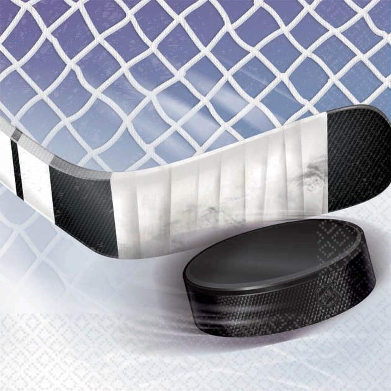 amscan Beverage Napkins NHL - ice time!