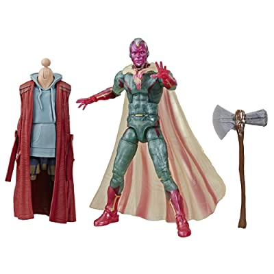 "Avengers Marvel Legends Series Captain America: Civil War 6"" Collectible Action Figure Marvel's Vision Collection: Toys & Games"
