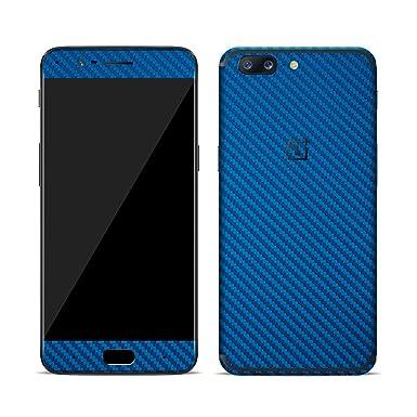 sale retailer 94111 75b96 Textured Skin Sticker For OnePlus 5 - wrap - decal (Blue Carbon ...