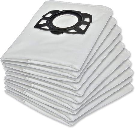 10 bolsas para aspiradora Kärcher WD4 WD5 WD6 MV4 MV5 MV6 WD 4 WD 5 WD 6 Kärcher 2.863-006.0: Amazon.es: Hogar