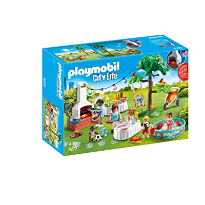 PLAYMOBIL Housewarming Party Building Set: Toys & Games