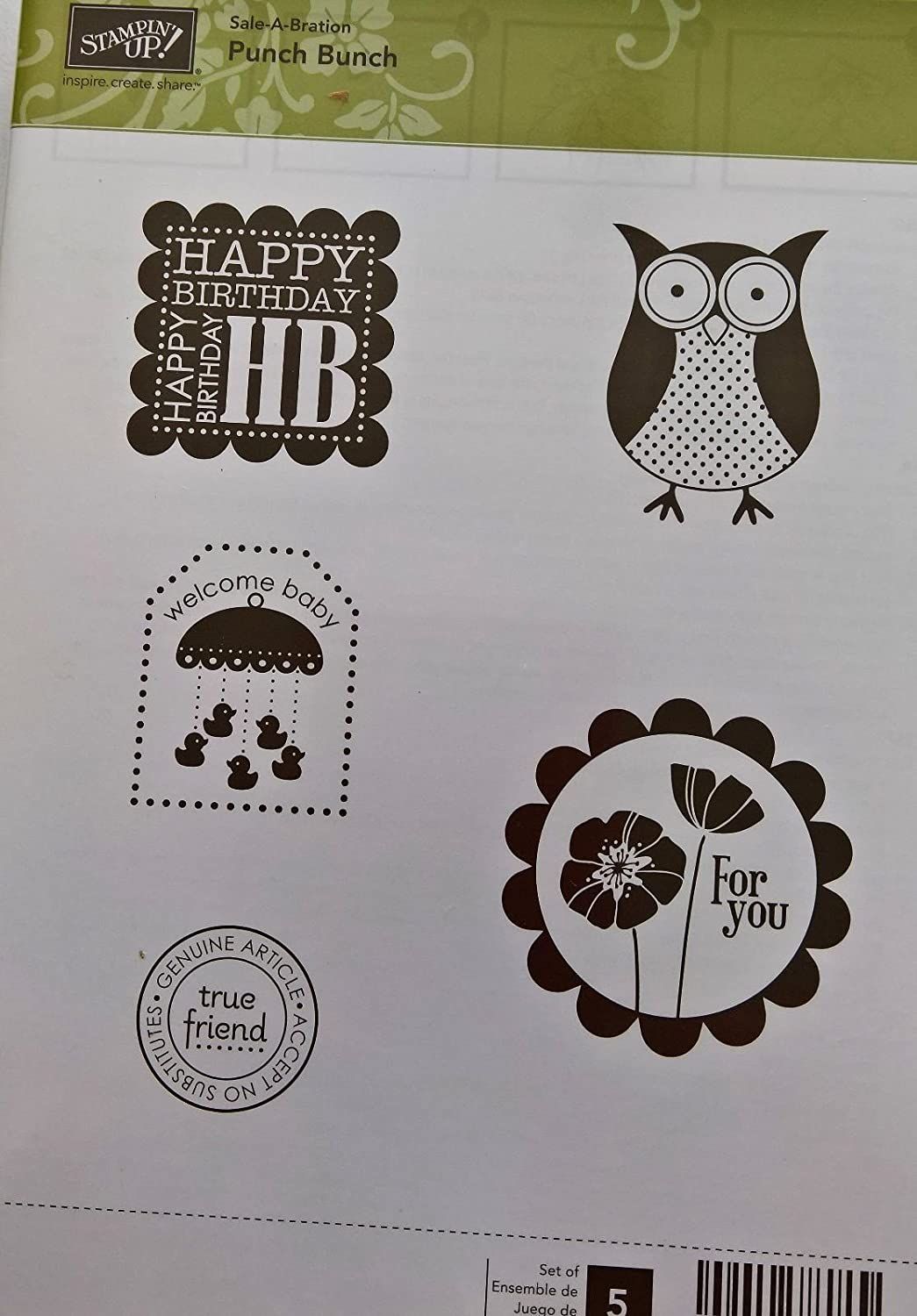 Punch Bunch Stampin Up!