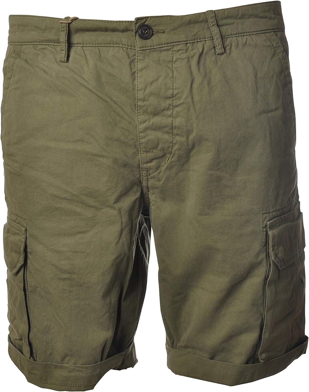 40 Weft Shorts Bermuda Casual NICK5035-W2221-VERDEMILITARE TG