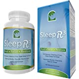 Herbal Sleep Aids For Adults | Deep Sleep Formula | Safe, Natural, Non-Addictive, Non-Drowsy | Aids Relaxation, Restorative Sleep & Recuperation | Sleep R3 Rest Relax Restore Guarantee! | 60 Capsules