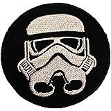 La Guerre Des Étoiles Stormtrooper Pièce ' 7.4 x 7.4 cm ' - Écusson brodé Ecussons Imprimés Thermocollants Broderie Sur Vetement Ecusson Catch The Patch
