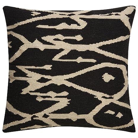 Amazon.com: Jaipur Tribal patrón gris/marfil lana y algodón ...