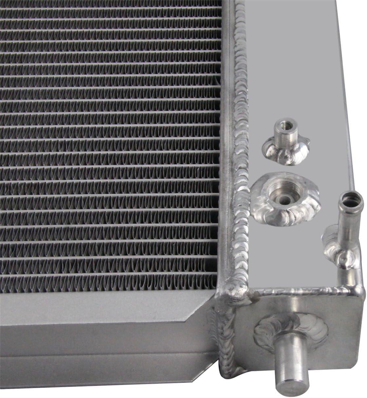 Primecooling 62MM 4 Row Core Aluminum Radiator for Ford F-150 F-250 F-350 Super Duty /&Lincoln Models 4.2L 4.6L// 5.4L 1997-2004