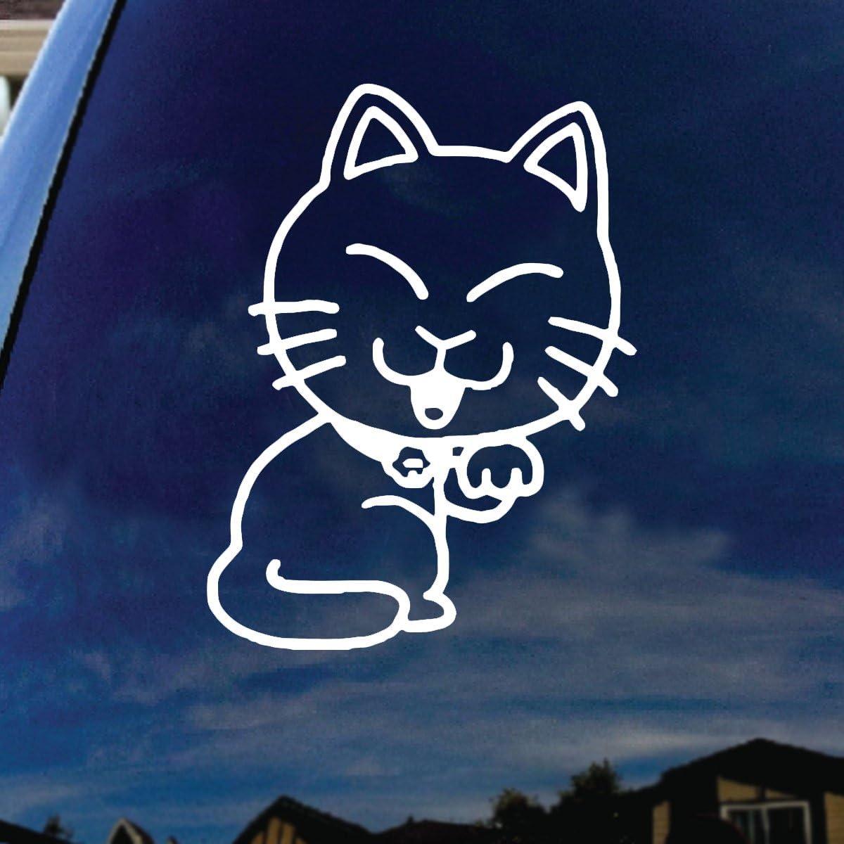 SoCoolDesign Kitty Cat Car Window Vinyl Decal Sticker 5