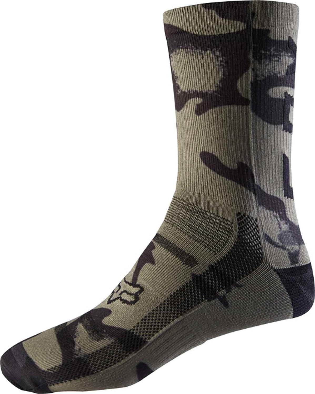 Fox 8 Print Sock, Camo, tamañ o S/M tamaño S/M FOX HEAD EUROPE 20945-027-S/M