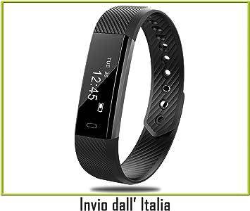Fitness Tracker, Reloj Fitness Pulsómetro de Pulsera Activity ...
