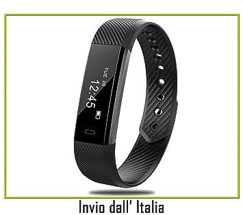 Fitness Tracker, Reloj Fitness Pulsómetro de Pulsera ...