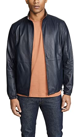 aa3226f527 Theory Men's Nazal L Jacket, Eclipse, Blue, Grey, Small