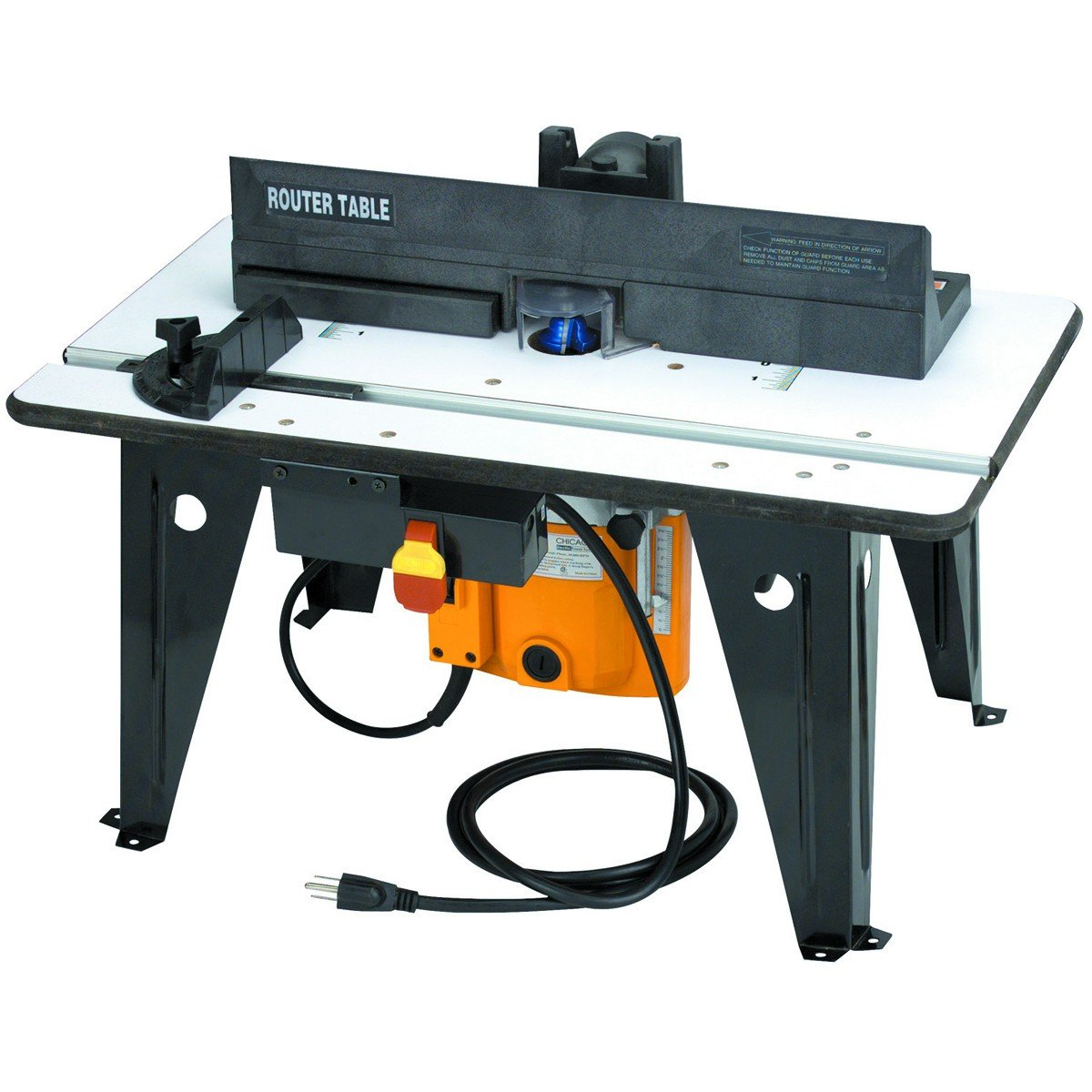 Benchtop router table with 1 34 hp router amazon greentooth Gallery