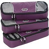 eBags Cubes de voyage - Sacs de rangement bagages slim - lot de 3