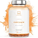 Turmeric Curcumin Supplement [ 4230 mg ] - With 95% Curcumin Extract & Piperine per Daily Dose - 180 Capsules - A Strong Antioxidant for Joint, Immune System and Heart Function Support - Nordic Purity: No Magnesium Stearate, Preservatives or Fillers - Non-GMO & Vegan - 3rd Party Lab Tested.
