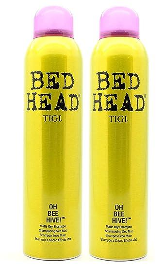 Amazon Com Tigi Bed Head Oh Bee Hive Matte Dry Shampoo Pack Of 2 Beauty