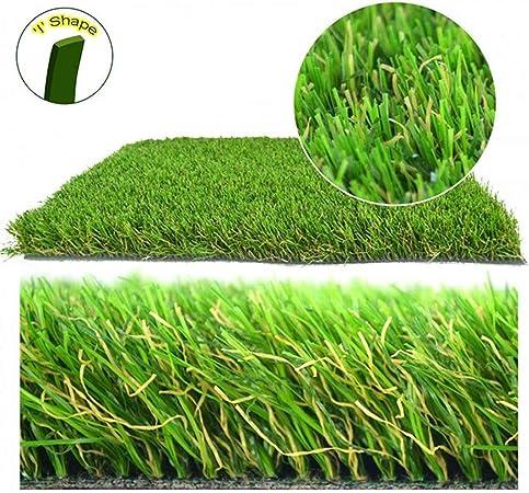 ZIYEYE 30mm Césped Artificial Realista Natural Natural Astro Verde Jardín de Césped, balcón Decoración Verde Plástico Césped Jardín de Fútbol de Kindergarten (Size : 2mx0.5m): Amazon.es: Hogar