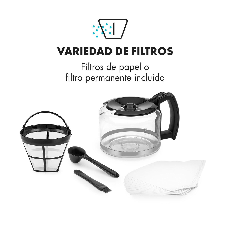 Klarstein Aromatica - Máquina de café, Máquina con filtro ...