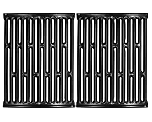 """VICOOL 15"""" 7523 Porcelain Enameled Cooking Grill Grates for Weber Spirit E/S 200 & 210 (with Side Mounted Control Panel), Spirit 500, Genesis Silver A, 7521 7522 7534 Gas Grill, hyG752C"""