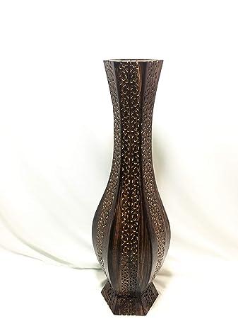 b76be5b94b91 Buy Badshah Craftsvilla Artificial Flower Wooden Vase for Home décor ...