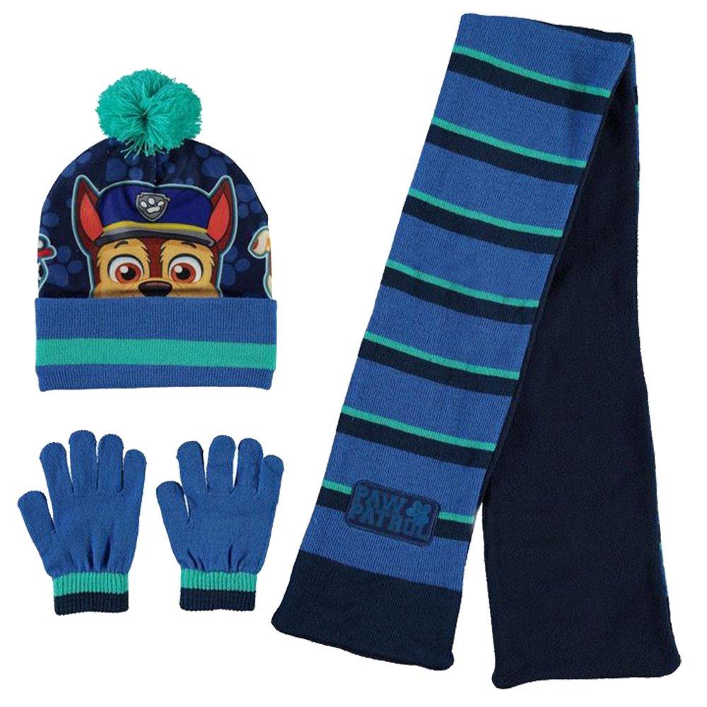 Kids Boys Girls Stylish Warm Soft Knitted 3 Piece Winter Set