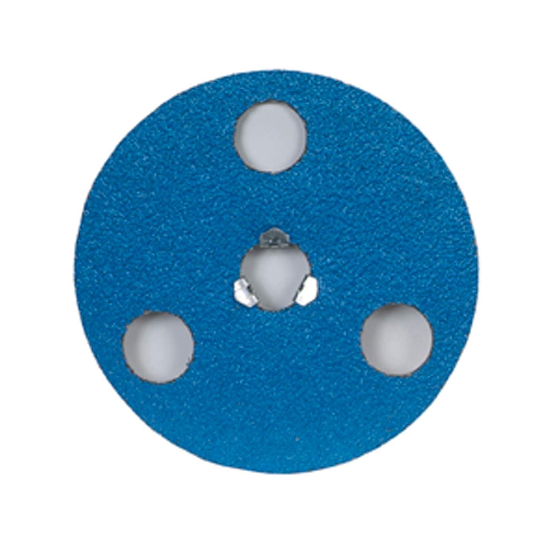 Zirconia Alumina 4 1//2 in Dia. 80 Grit 10 Each AVOS Edger Speed-Lok Discs