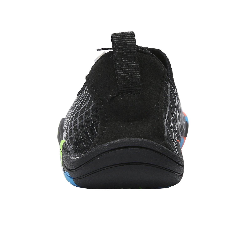 Taigele Mens Womens Water Shoes calcetines de Aqua de secado rápido  descalzo Slip On para Beach Swim Yoga Sneakers Negro 3a09f617bd8