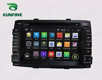 Android 8.0 Octa Core Autoradio Radio DVD GPS navegación Reproductor multimedia estéreo de coche para Kia