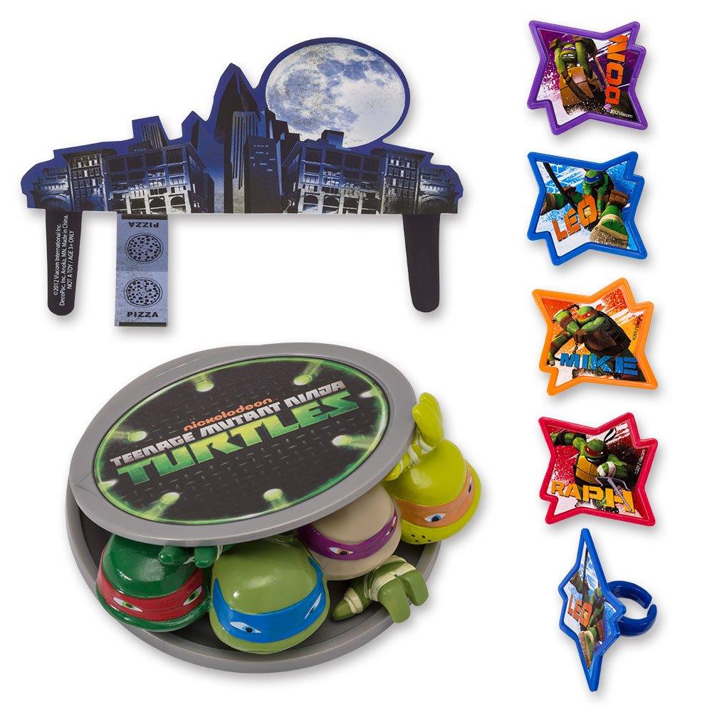 Amazon.com: DecoPac Teenage Mutant Ninja Turtles DecoSet ...